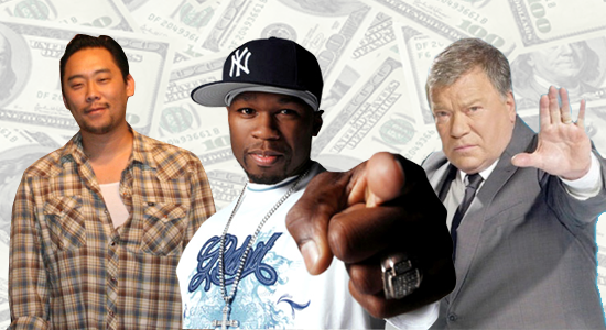 50 Cent Shatner David Choe