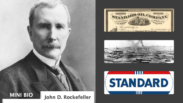 thesis on john d rockefeller