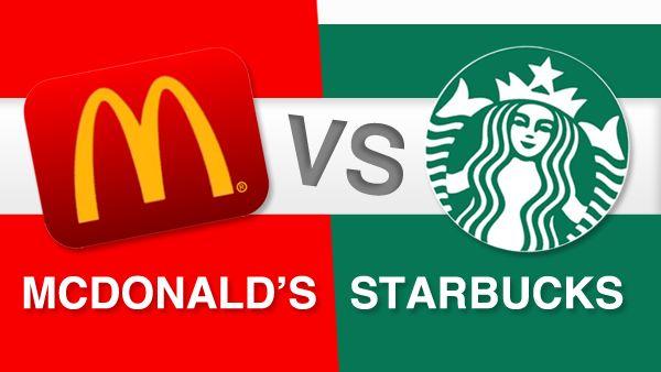 McDonalds VS Starbucks